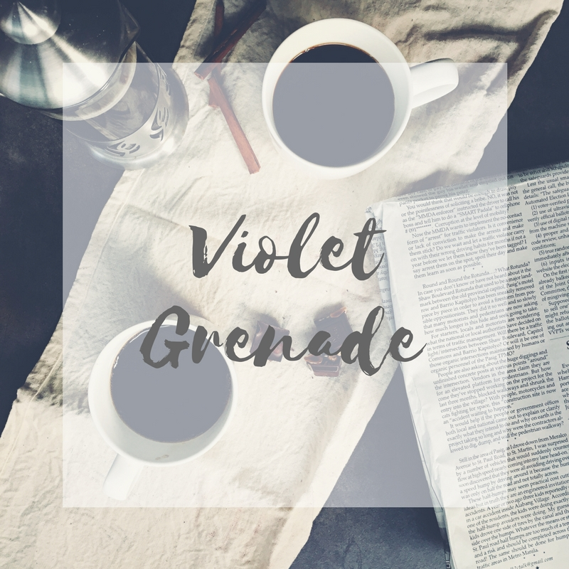 A book review of Violet Grenade by Victoria Scott