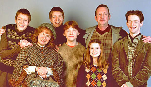 The Weasley family