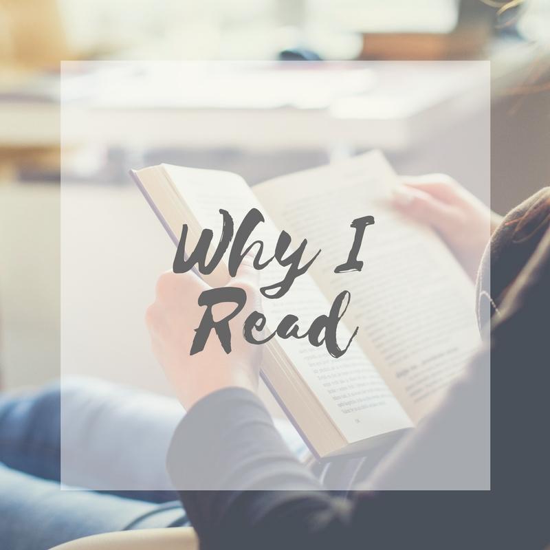 Check out reasons why I read | literarymusings.blog