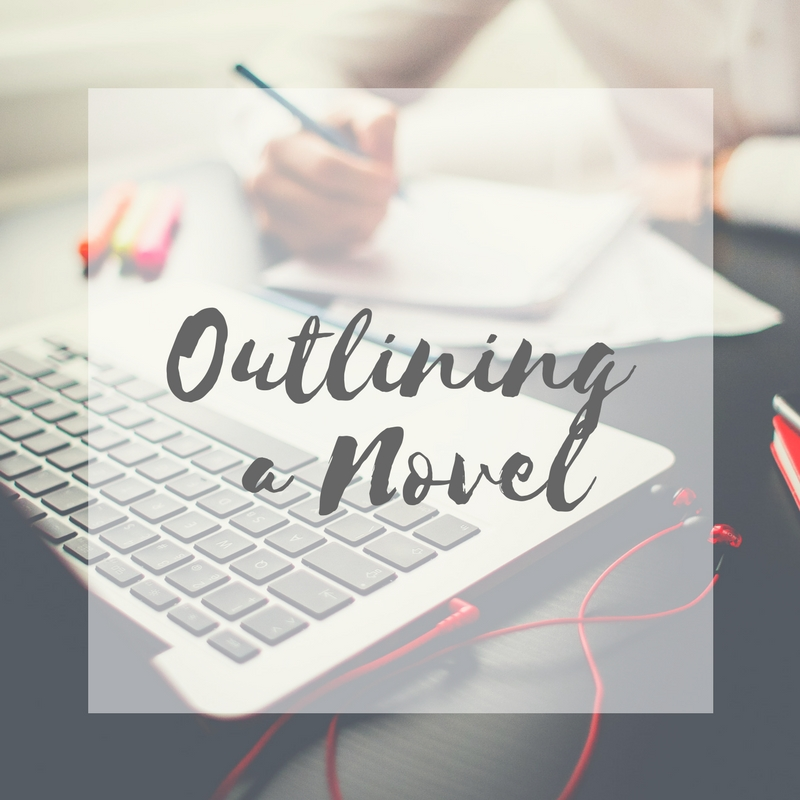 Check out my post on how I outline my novels | literarymusings.blog
