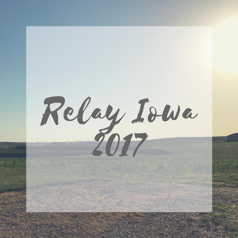 My thoughts on running Relay Iowa 2017 | literarymusings.blog